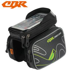 Túi treo kẹp sườn xe đạp  - Túi treo xe đạp ba ngăn CBR