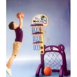 Cột bóng rổ và khung thành bóng đá Pediasure