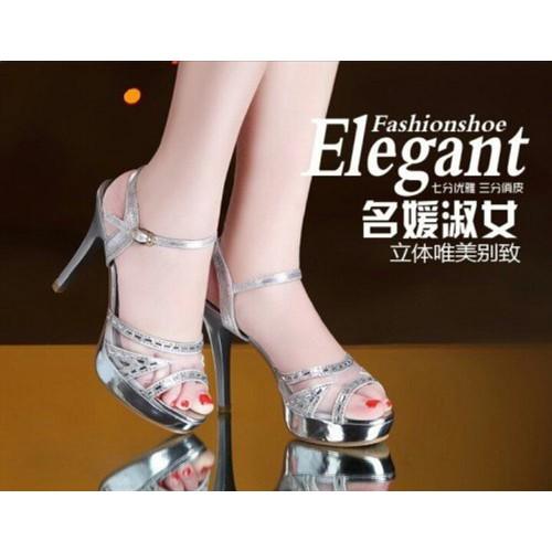 Giày sandal cao gót đính đá - 4286956 , 5712123 , 15_5712123 , 355000 , Giay-sandal-cao-got-dinh-da-15_5712123 , sendo.vn , Giày sandal cao gót đính đá