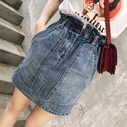 Chân váy jean nữ
