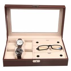 hộp đựng đồng hồ 6 ngăn