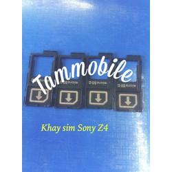 Khay sim sony z4