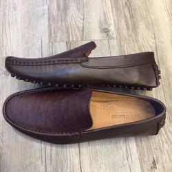 Giày lười nam da đà điểu cực bền