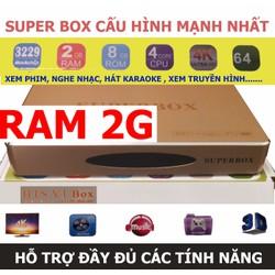 Androi TV box V1 RAM 2G biến tivi thường thành smart tivi nhanh nhất