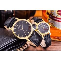 đồng hồ thời trang đôi dây da