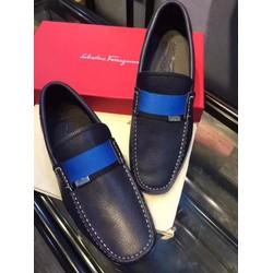SMN1029.Giày da nam hàng hiệu Ferragamo tháng 5.2017