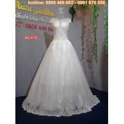 váy cưới công chúa AC415