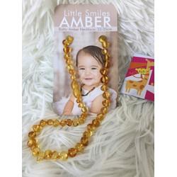 Vòng cổ hổ phách Amber Pháp