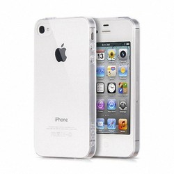 Ốp lưng Iphone 4 4s dẻo trong suốt