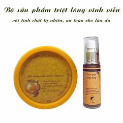 Bộ sản phẩm tinh chất tẩy lông từ thiên nhiên - Xuất xứ Việt Nam