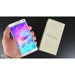 Ốp lưng Samsung Galaxy Note 4 dẻo trong suốt