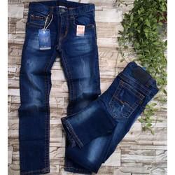 Quần dài jeans mềm co giãn - bé 26kg đến 40kg