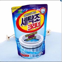 Gói bột vệ sinh lồng máy giặt - Sản xuất tại Hàn Quốc