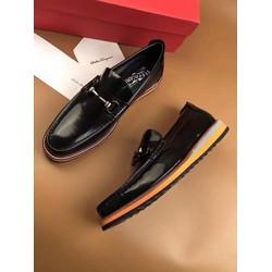 SMN1033.Giày da nam hàng hiệu Ferragamo tháng 5.2017