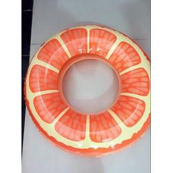 phao bơi hình quả cam và dua hấu