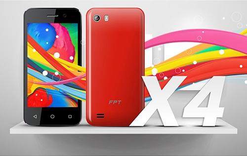 Điện thoại FPT X4 2 Sim 1