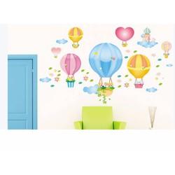 Decal dán tường Khinh khí cầu