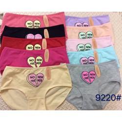 Set 3 quần lót cotton họa tiết tim cực xinh.
