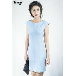 Đầm ôm vai chờm vải XLeo cao cấp DO002 - Đơn giản mà tinh tế