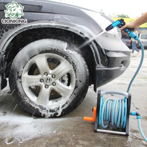 Vòi rửa xe tăng áp, vòi tưới cây LionKing 10 mét PR1015C