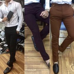 Quần vải nam body sành điệu giá rẻ nhất hà Nội