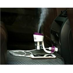 Tẩu phun sương tạo ẩm trên ô tô Nanum kèm cổng sạc usb