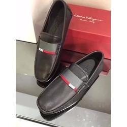 SMN1028.Giày da nam hàng hiệu Ferragamo tháng 5.2017