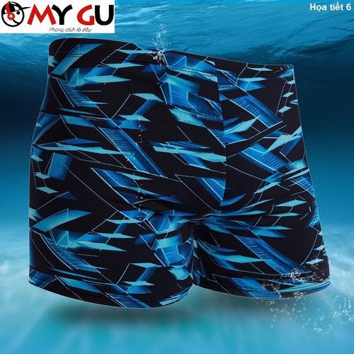 Quần bơi nam năng động, cá tính QB01 - Họa tiết 6