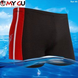 Quần bơi nam thể thao QB02 - Sọc đỏ