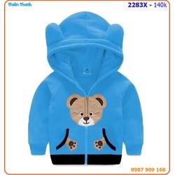 Áo khóac gấu xinh xắn cho bé ngày hè