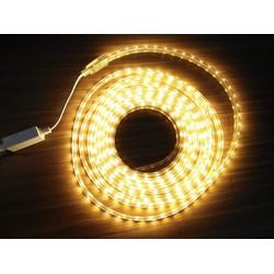 Bộ 10mét LED dây 5050 220V bọc nhựa kèm nguồn