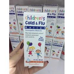 Siro đặc trị cảm cúm Cold Flu