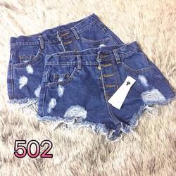 Quần short jean rách size s,m,l - A29997