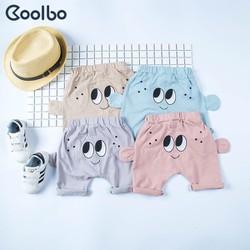 Quần short trẻ em mặt cười cotton chính hãng Coolbo