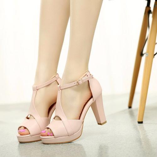 Giày cao gót hở mũi - Hàng Đẹp Cao Cấp