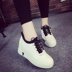 Giày sneaker nữ nâng đế thời trang Hàn Quốc - GN01