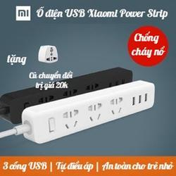 [CHÍNH HÃNG] Ổ CẮM ĐIỆN XIAOMI POWER STRIP -Ổ ĐIỆN KIÊM SẠC SMARTPHONE - POWER STRIP