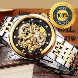 Đồng hồ nam lộ máy cao cấp Tevise Dragon sang trọng lịch lãm