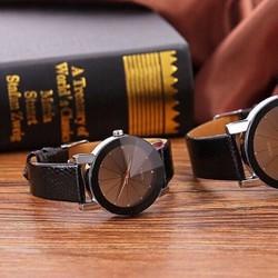 Đồng hồ đôi Nary dây da rắt sắc sảo