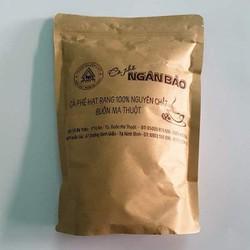 Cà phê hạt xay nguyên chất Ngân Bảo 500gr -NPP HS shop