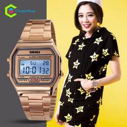 Đồng hồ Nữ Skmei SK1123 - Vàng Hồng