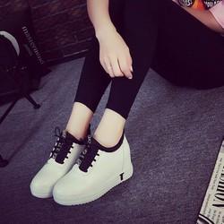 Giày nữ nâng đế thời trang Hàn Quốc - Giày  sneaker nữ nâng đế