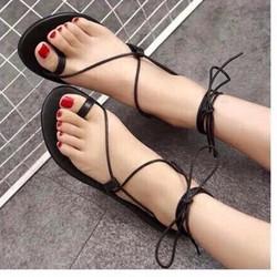 Giày Sandal dây cũ