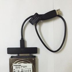 Dock cắm đọc dữ liệu cho ổ cứng 2.5 qua cổng USB