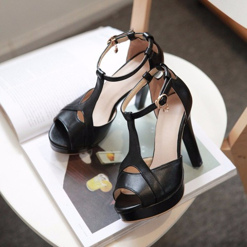 Giày cao gót hở mũi Giày Xinh cao cấp - Hàng Đẹp Cao Cấp