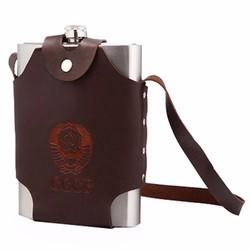 Bình đựng Inox CCCP 1,5L dày 0,6mm tặng túi đựng bình shopaha247