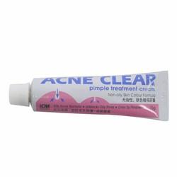 Kem trị mụn ACNE CLEAR Pimple treatment cream singapore