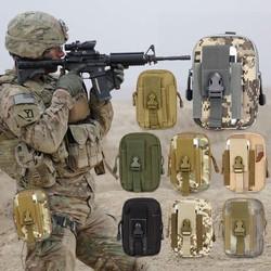Túi Đeo Thắt Lưng Du Lịch Phong Cách Quân Đội