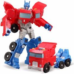 Robot Biến Hình Optimus-Đỏ
