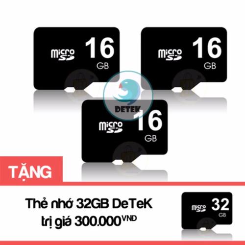 Bộ 3 thẻ nhớ MicroSD 16GB tặng Thẻ nhớ MicroSD 32GB